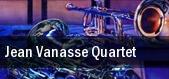 Jean Vanasse Quartet Montreal tickets