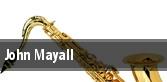John Mayall Sellersville tickets