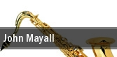 John Mayall Shedd Great Hall tickets