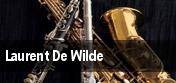Laurent De Wilde tickets