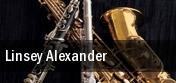 Linsey Alexander tickets