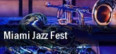 Miami Jazz Fest Miami tickets
