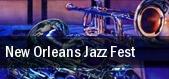 New Orleans Jazz Fest New Orleans Fairgrounds tickets