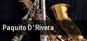 Paquito D'Rivera New Jersey Performing Arts Center tickets