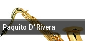 Paquito D'Rivera Newark tickets