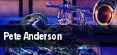 Pete Anderson Berkeley tickets