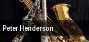 Peter Henderson tickets