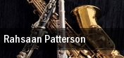 Rahsaan Patterson Birchmere Music Hall tickets