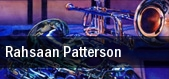 Rahsaan Patterson Center Stage Theatre tickets