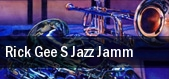 Rick Gee s Jazz Jamm Mahaffey Theater At The Progress Energy Center tickets