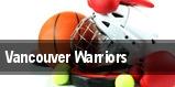 Vancouver Warriors tickets