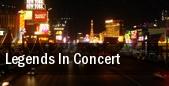 Legends In Concert Harrahs Chester Casino & Racetrack tickets