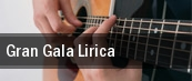 Gran Gala Lirica tickets