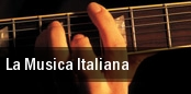 La Musica Italiana tickets
