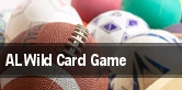 AL Wild Card Game tickets