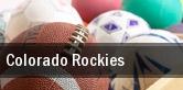 Colorado Rockies Coors Field tickets