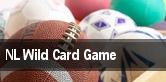 NL Wild Card Game Playoff tickets