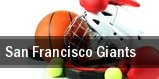 San Francisco Giants AT&T Park tickets