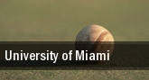University of Miami tickets