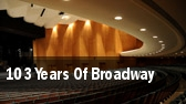 103 Years Of Broadway Artis tickets
