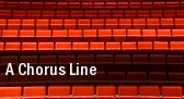 A Chorus Line Adler Theatre tickets
