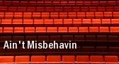 Ain't Misbehavin Mccallum Theatre tickets