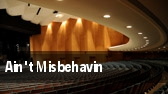 Ain't Misbehavin University Park tickets