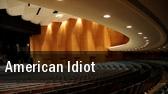 American Idiot Mortensen Hall tickets