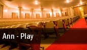 Ann - Play New York tickets