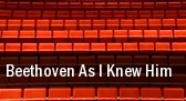 Beethoven As I Knew Him Geffen Playhouse tickets