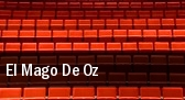 El Mago De Oz tickets