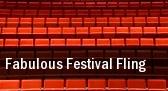 Fabulous Festival Fling tickets