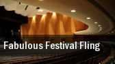 Fabulous Festival Fling Spencer Theater For The Performing Arts tickets