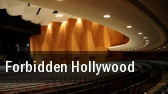 Forbidden Hollywood tickets
