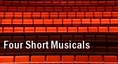 Four Short Musicals tickets
