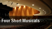 Four Short Musicals L. Howard Fox Studio Theater tickets