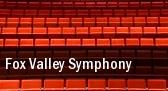 Fox Valley Symphony Appleton tickets