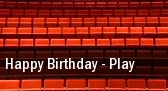 Happy Birthday - Play tickets