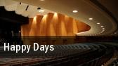 Happy Days Jacksonville tickets