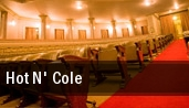 Hot N' Cole North Dekalb Cultural Center tickets