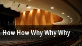 How How Why Why Why Cincinnati Playhouse In The Park tickets