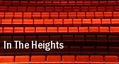 In the Heights INB Performing Arts Center tickets
