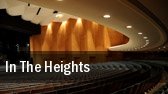 In the Heights Sangamon Auditorium tickets