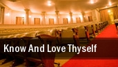 Know And Love Thyself Phoenix tickets