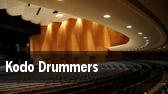 Kodo Drummers University Park tickets