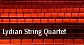 Lydian String Quartet University Of Buffalo Lippes Concert Hall & Baird Recital Hall tickets