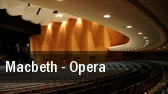 Macbeth - Opera Barrymore Theatre tickets