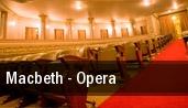 Macbeth - Opera New York tickets