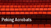 Peking Acrobats Comerica Theatre tickets
