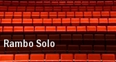 Rambo Solo Mershon Auditorium tickets